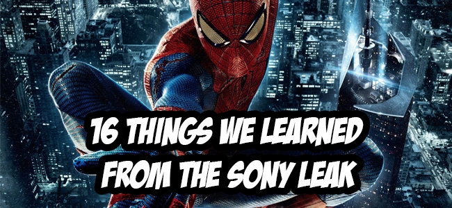 The 16 Biggest Things We Learned from the Sony Leak
