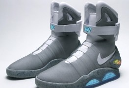 Back to the Future Shoes (Power Laces Included) Will Be Available Later This Year