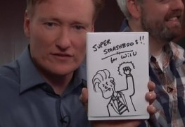 Of Course the Best 'Clueless Gamer' Comes During E3: Conan Plays Super Smash