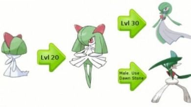 Gardevoir's Mega Evolution Revealed