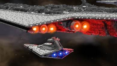 This Nearly 13-Foot Star Destroyer Is The Most Epic LEGO Kickstarter You're Likely To See