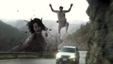 Attack on Subaru! Titans in a New Commercial