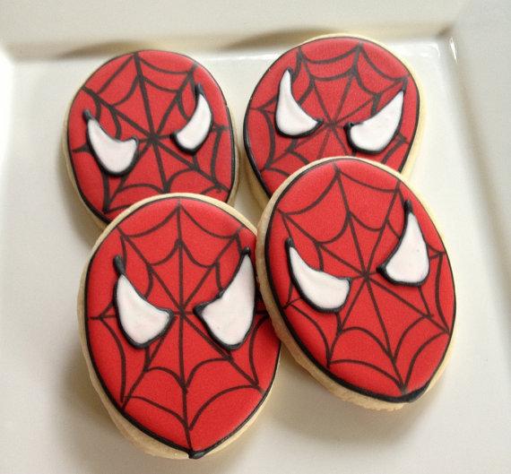 spider-man-cookies
