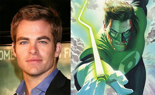 Rumor: Chris Pine Up for Green Lantern, But Probably Not John Stewart. Probably.