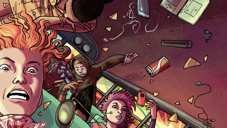 No Mercy #1 Review - Teenage Drama and American Exceptionalism