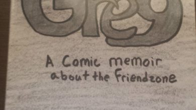 "Photo of Patrick J. Reilly's ""GREY"" A Comic Memoir about the Friendzone"