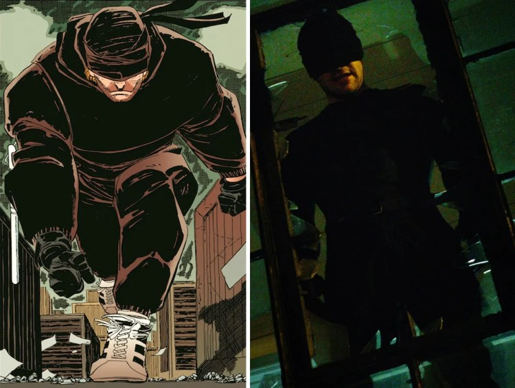 Daredevil First Costume