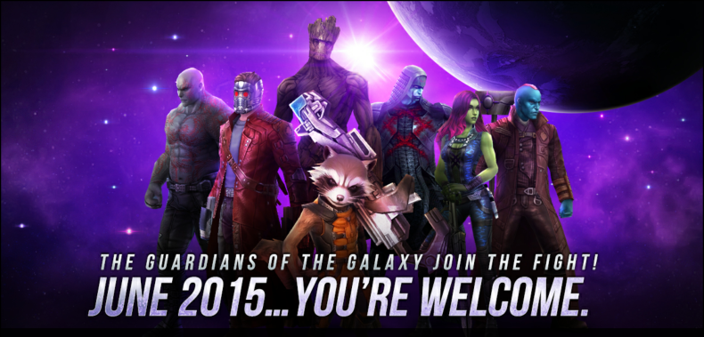 How to Unlock the Guardians of the Galaxy in Marvel Future Fight