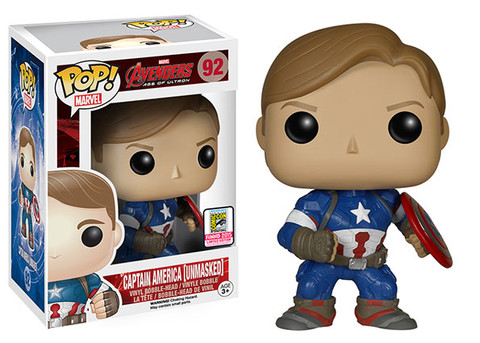 Avengers Age of Ultron - Captain American Unmasked