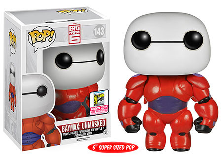 Big Hero 6 - 6 Baymax Unmasked