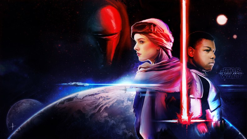 Star Wars: The Force Awakens - Here's The Official D23 Poster