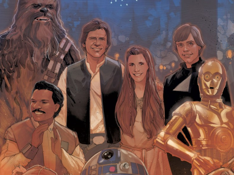 Star Wars: Shattered Empire - How Much Will We See Of Luke, Han, And Leia?