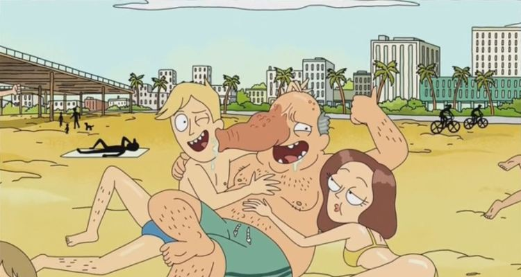 rick and morty - trunk people