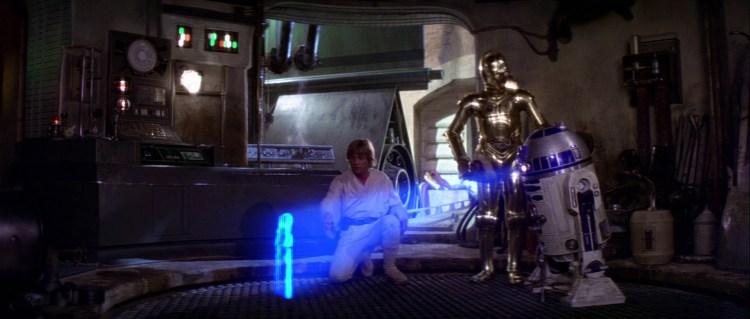 Luke Leia ANH