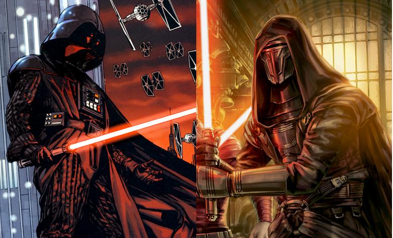 Star Wars Sith Lord Showdown Darth Vader Vs Darth Revan Overmental