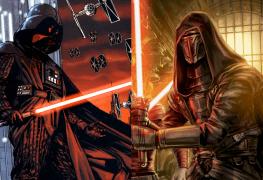 Star Wars Sith Lord Showdown: Darth Vader vs. Darth Revan