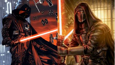 Photo of Star Wars Sith Lord Showdown: Darth Vader vs. Darth Revan
