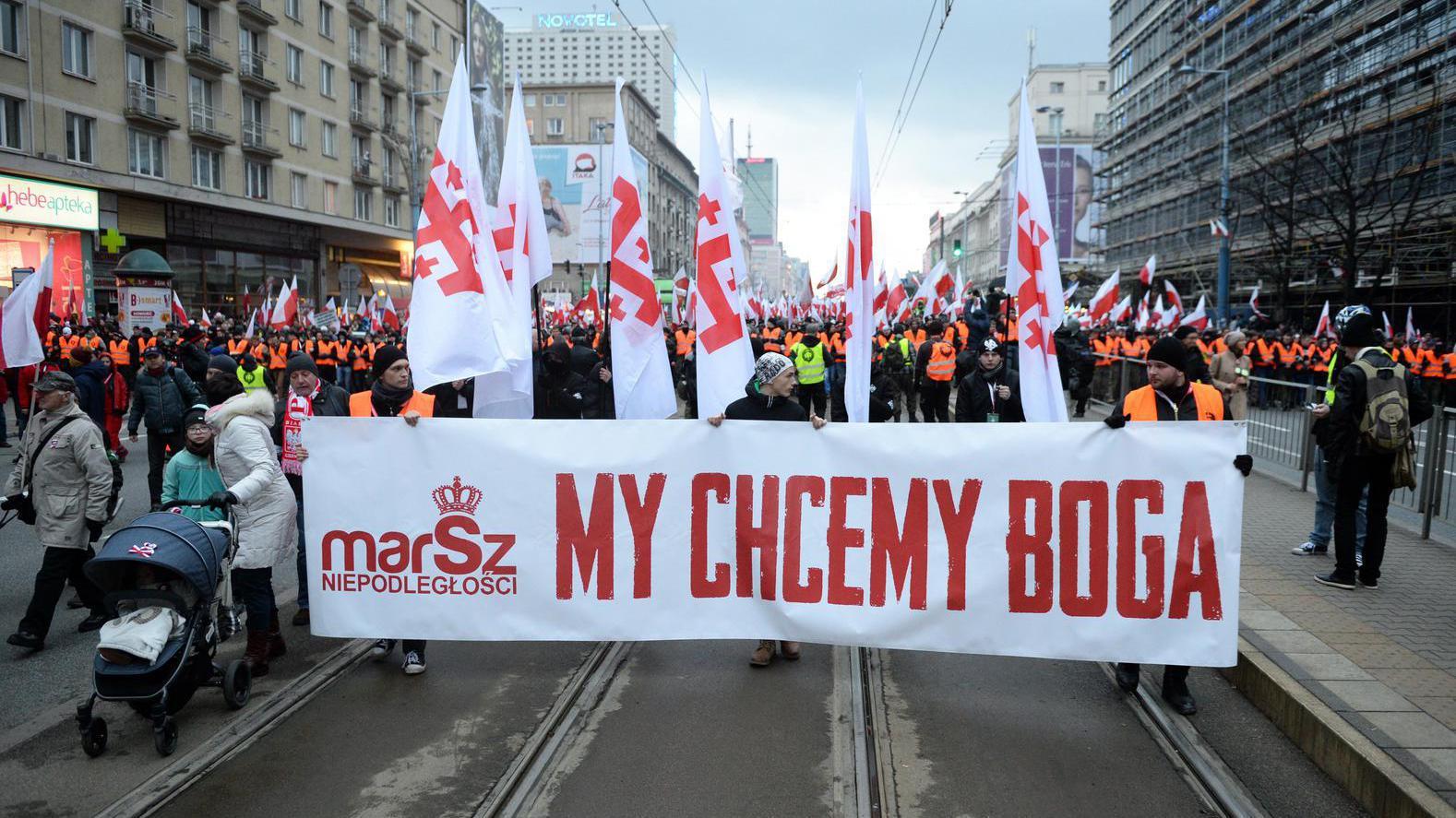 Onafhankelijkheidsdag Polen ontsierd door extremisten en neonazi's