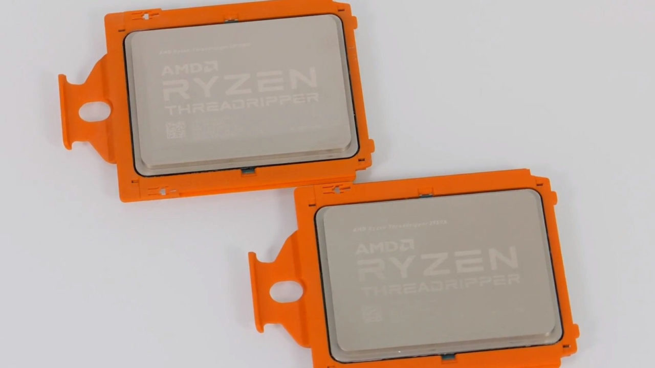 Распаковка AMD Ryzen Threadripper 2990WX и 2950X