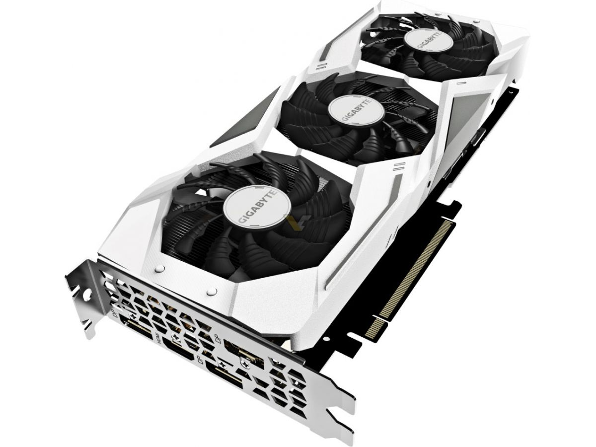 GIGABYTE готовит GeForce RTX 2060 Gaming в белом цвете