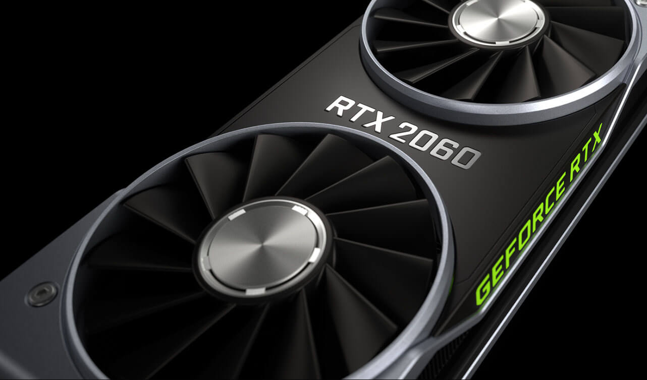 NVIDIA GeForce RTX 2060 за 31990 рублей