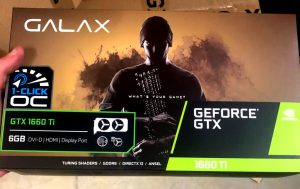 GALAX GeForce GTX 1660 Ti упаковка