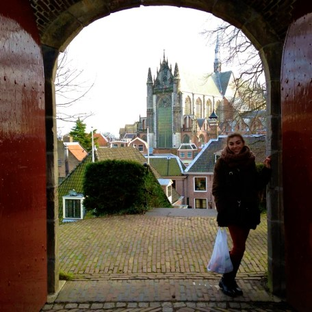 View from the doors of De Brucht Castle