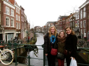 Emily, Me and Hannah on the canal