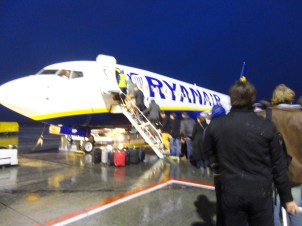 The scary plane we took to Dublin