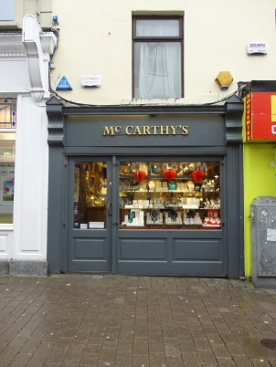 Jewelry store where we bought our Claddagh rings