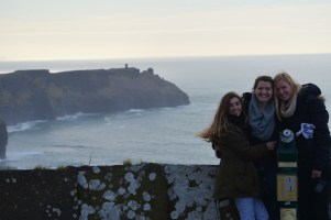 Me, Sophia and Emily at the Cliffs of Moher