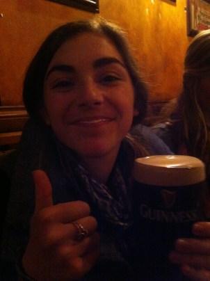 Foam mustache from Guinness
