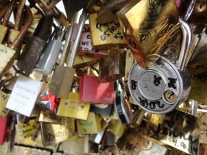 My lock on the bridge