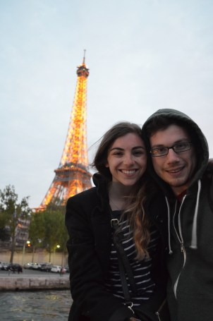 Michael and I by the Eiffel Tower