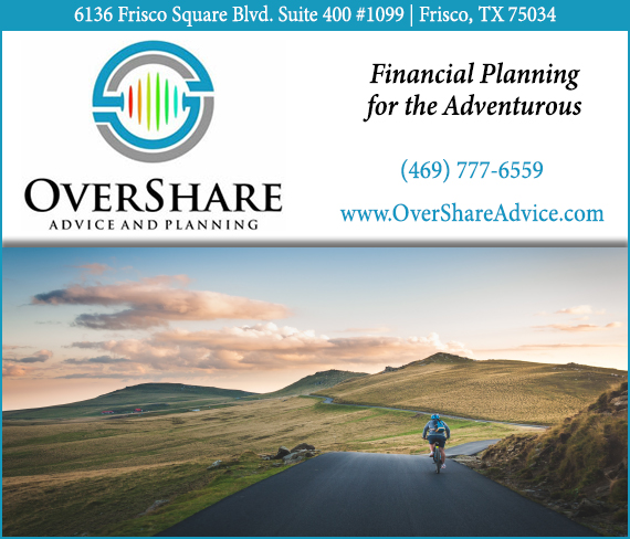 OverShare Advice Planning - PerksConnect Ad