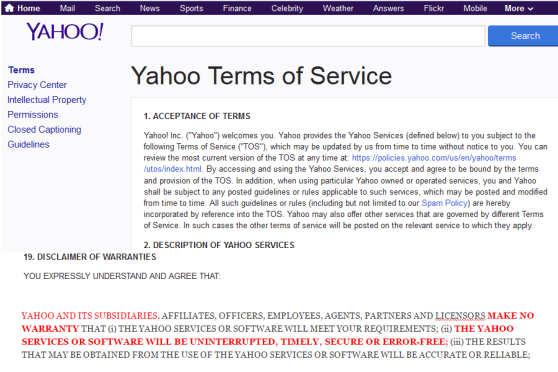 Using Yahoo Email? Should You Notify Customers that Your Email is Breached?