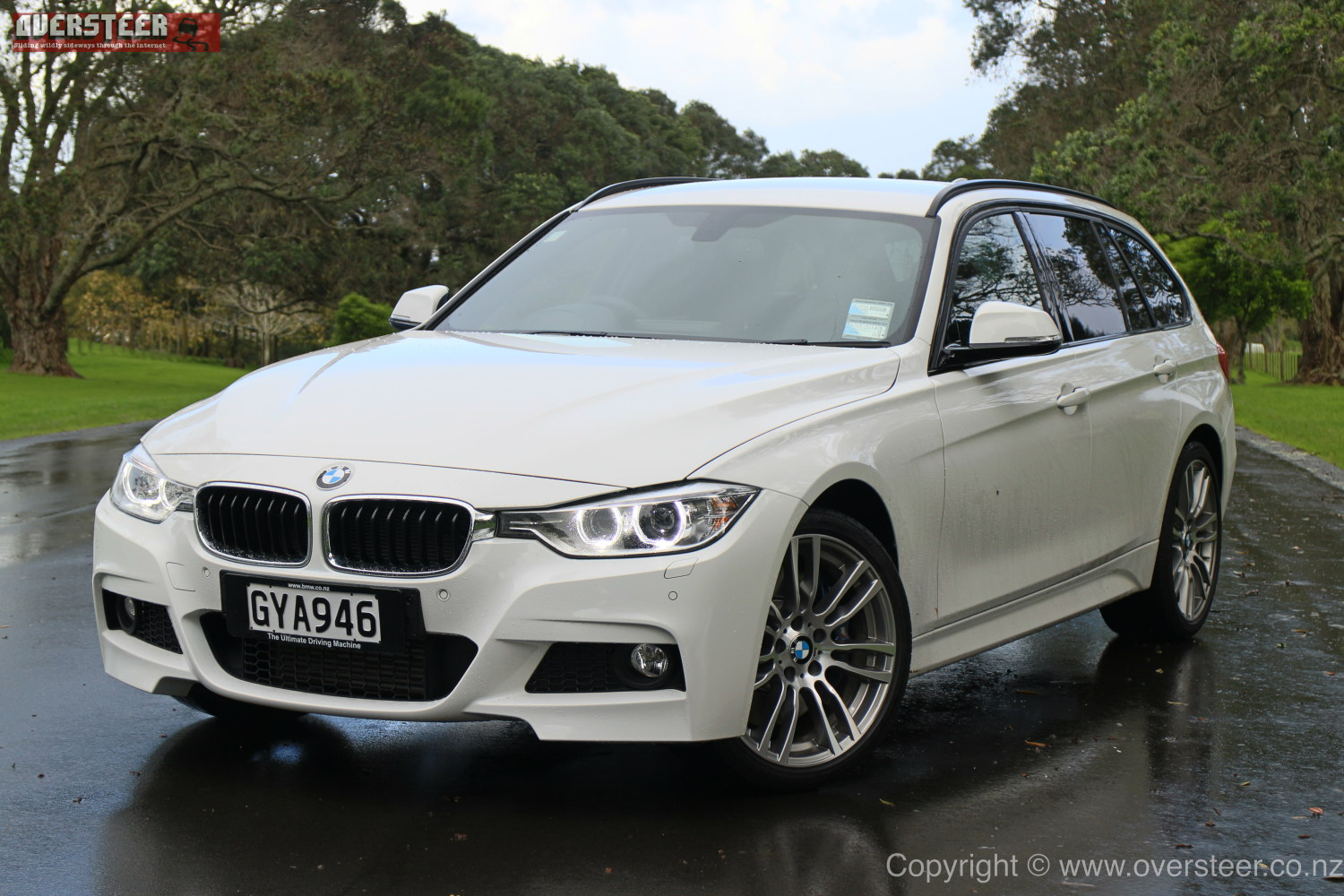 Road Test Bmw 330d Touring Xdrive  Oversteer