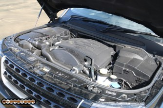 The Discovery packs a brawny, muscular diesel V6.