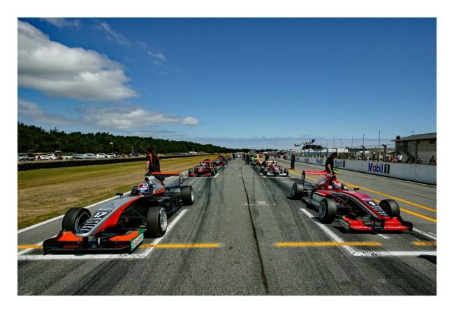 Grid-race-3. IMAGE/terry marshall