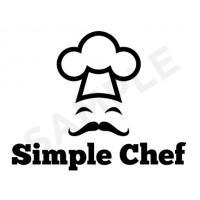 Food logo design template