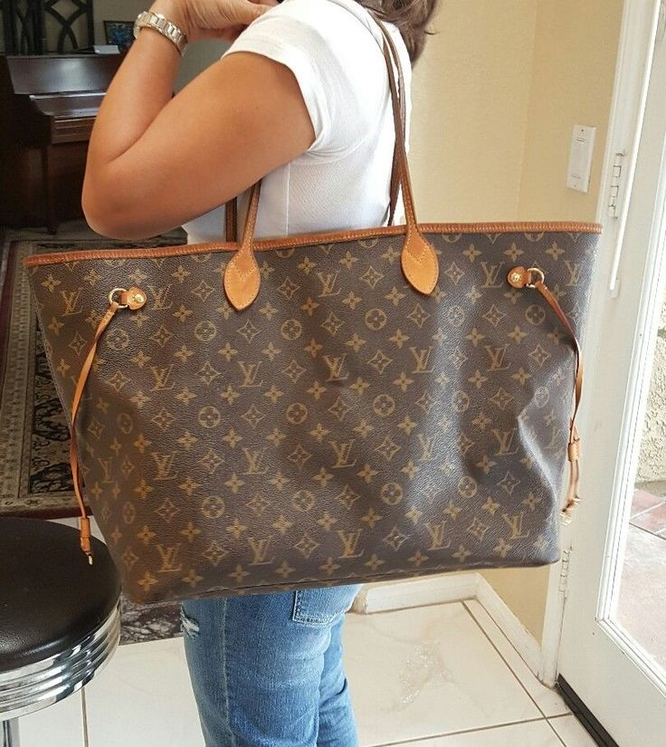 48db7a9ab9a Neverfull GM Monogram Canvas