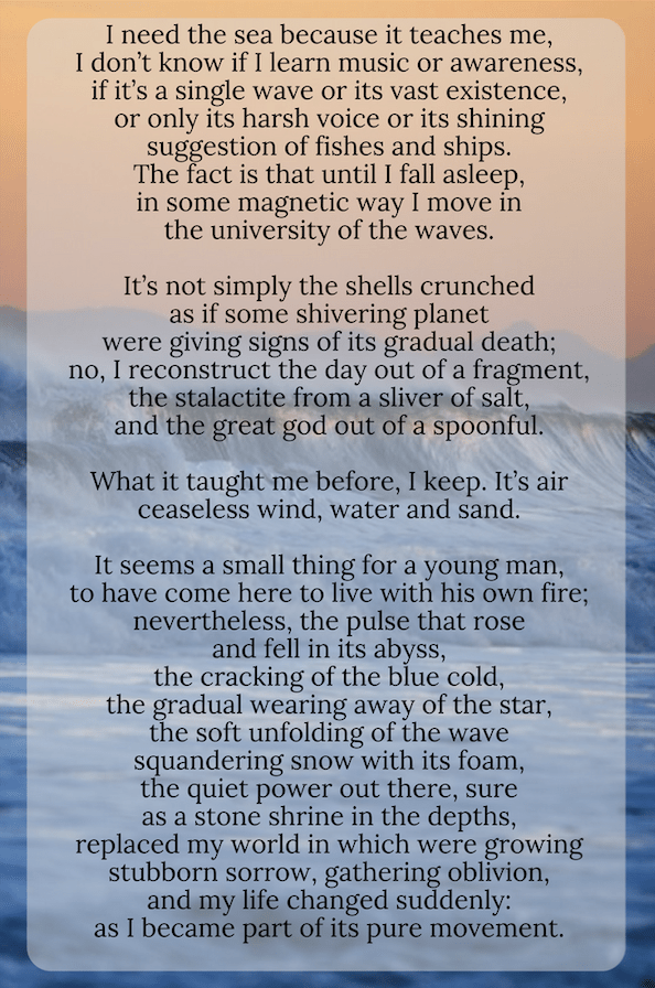 Poems About The Sea 2