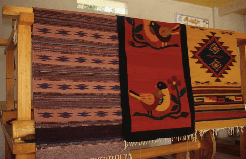 mexican zapotec rug designs