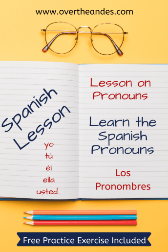 Pronombres - Spanish Pronouns