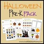 Halloween Pre-K Pack