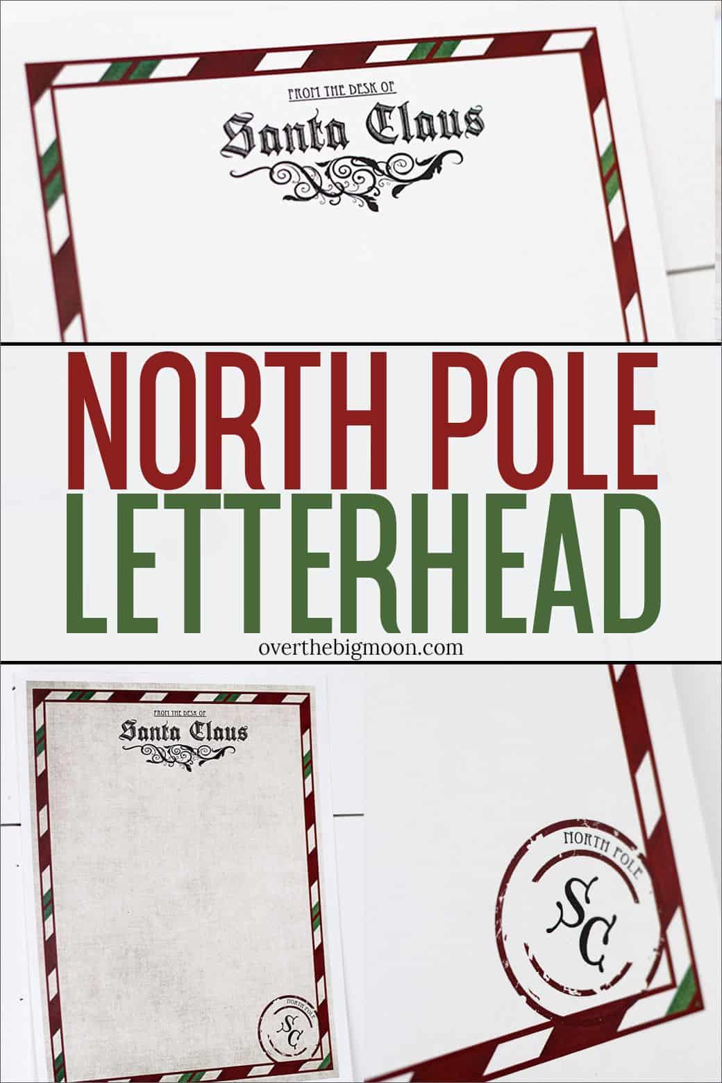 photograph regarding Letter From Santa Printable named Letter in opposition to Santa Printable