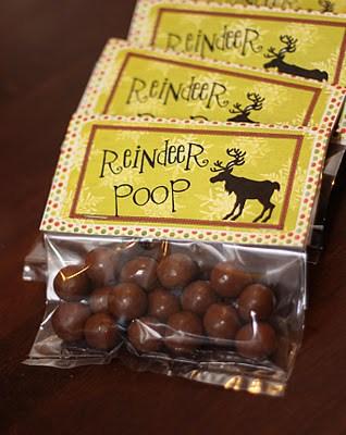 Reindeer Poop Bag Topper