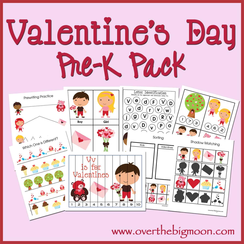 Valentine S Day Pre K Pack