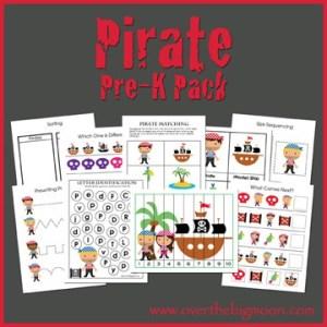 Pirate Pre-K Pack