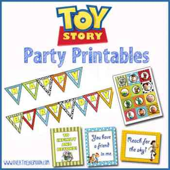 Toy Story Party Printables | Over The Big Moon